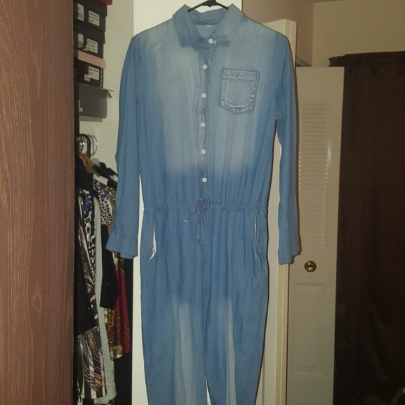 914fae9c3c91 Denim jumpsuit. NWT. Roaso